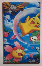 Pokemon Happy Pikachu & Friends Light Switch Outlet Wall Cover Plate Home Decor image 4