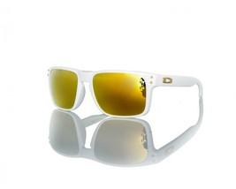 Neu Oakley Sport Shaun White Holbrook Poliert Weiss W/24K Iridium OO9102-18 - $382.14