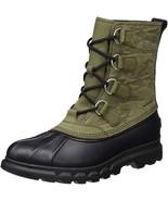 New $180 Sorel Portzman Camo Waterproof Leather Boot 8.5 / 41.5 - $112.19