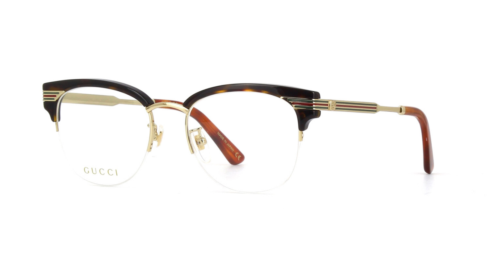 45927d46cfe3 S l1600. S l1600. Previous. Gucci GG0201O 002 Eyeglasses Havana Brown Gold  Frame 50mm · Gucci GG0201O 002 Eyeglasses ...