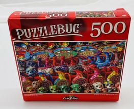 Colorful Mexican Souvenirs - Puzzles - 500 Pcs - New - $4.70