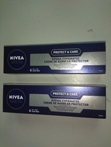 PACK OF 2  100ml Nivea protect & care shaving cream for normal to dry sk... - $29.00