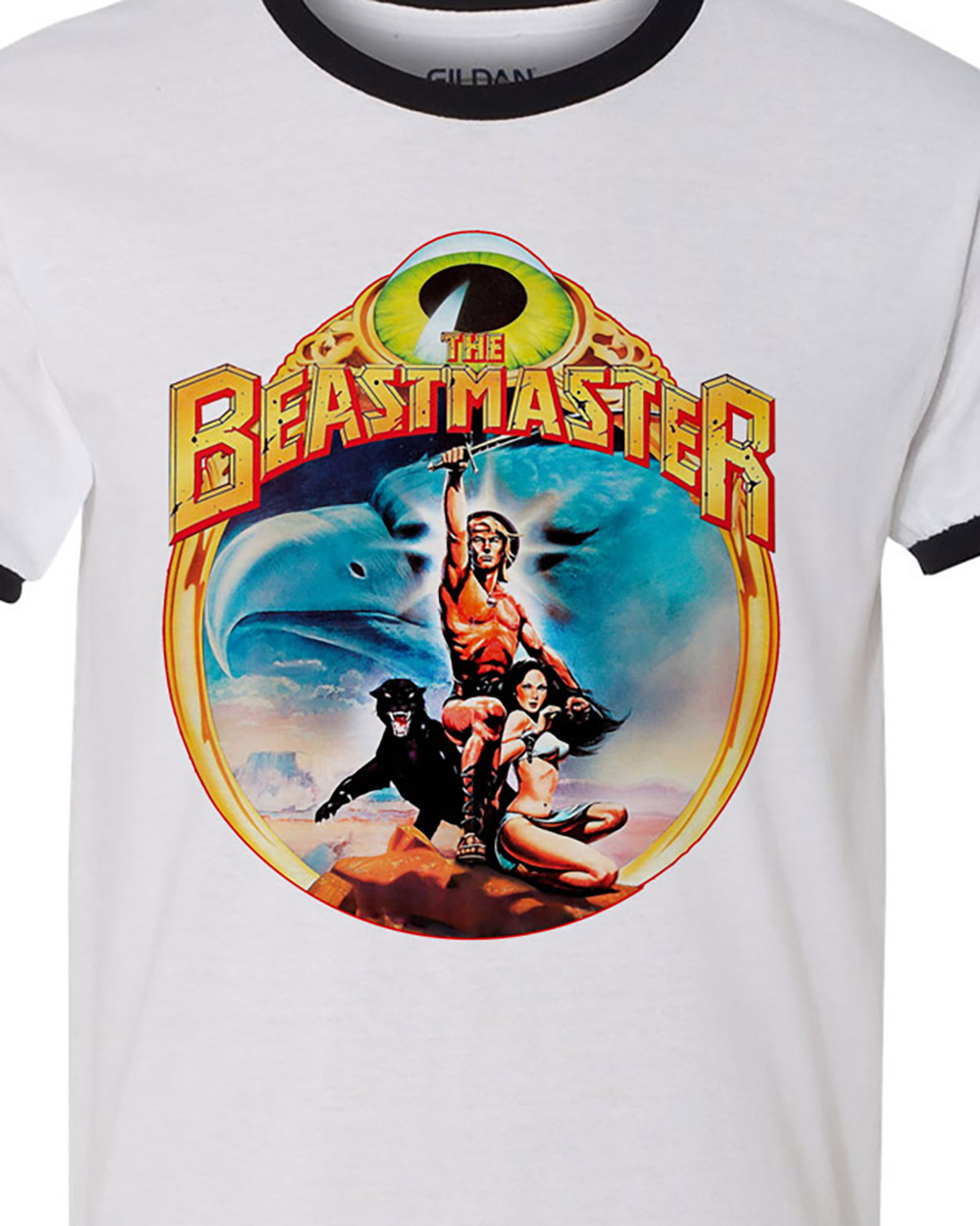 The beastmaster retro vintage 80 s sci fi t shirt for sale online store ringer tee