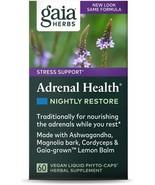 Gaia Herbs Adrenal Health Nightly Restore, Vegan Liquid Capsules, 60 Count - $102.11