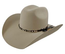 Men's Cowboy Hat El General Texana 50X Horma Toro Color Sand Wool - €73,77 EUR