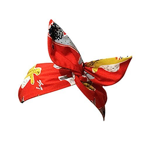 The New Morden Retro Style Headwrap/Hair Band For Girls/Female (Red)