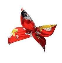 The New Morden Retro Style Headwrap/Hair Band For Girls/Female (Red) image 1