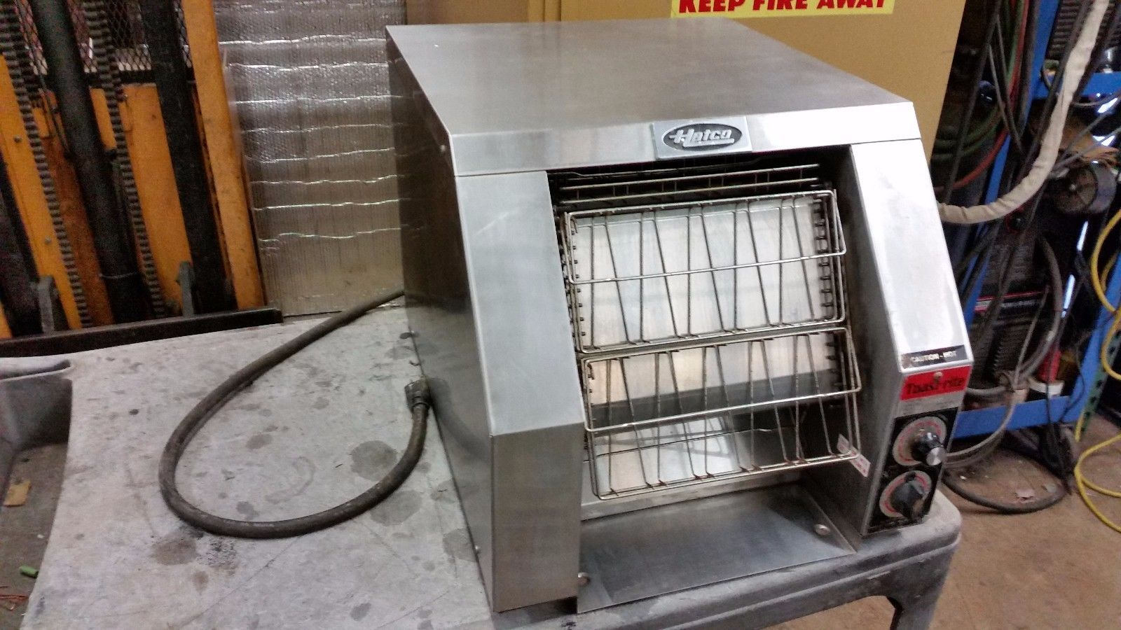 Hatco Toast-Rite SLICED BREAD Conveyor Toaster 120V