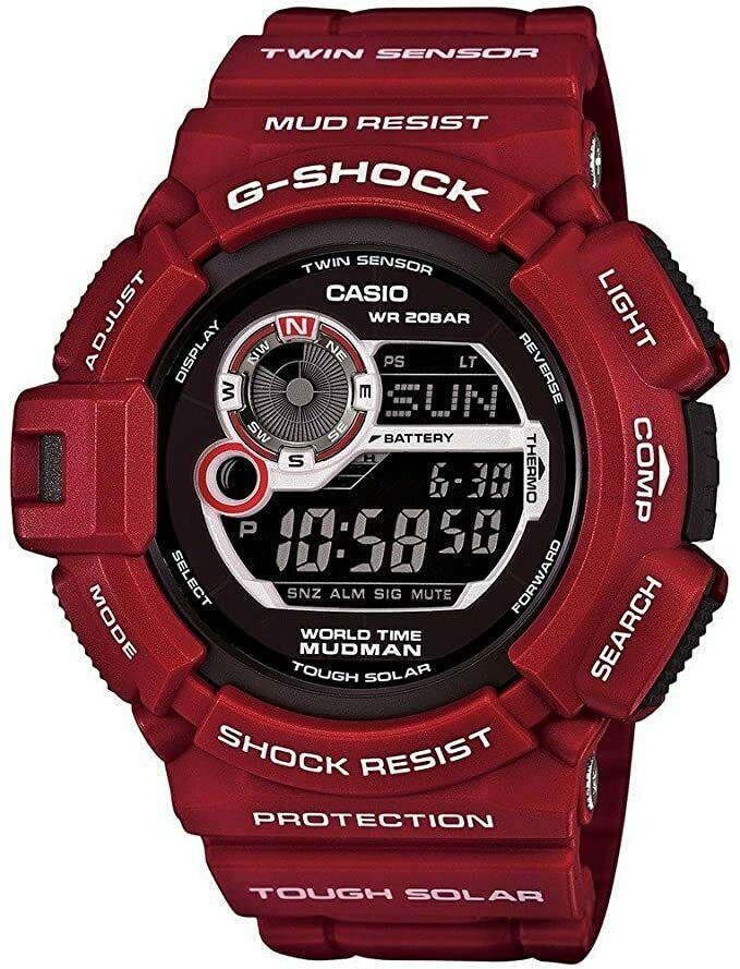 Primary image for Casio G-Shock G9300RD-4 Master of G Series Designer Watch - Red/Black