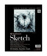 Artist Sketch Book 11 x 14 Paper Pad Notebook 50 Sheets Drawing School S... - $14.35