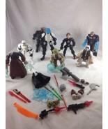 """Star Wars Hasbro Lot Jedi Force 6"""" Action Figure Yoda Luke Stormtrooper - $14.84"""