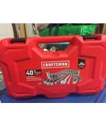 "Craftsman CMMT12018 40 PC. SAE/Metric 3/8"" Drive Mechanics Tool Set - $58.04"