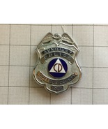 Obsolete Suffolk County New York Auxiliary Police Department Badge #1700 - $125.00