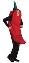 Chili Pepper Costume Adult Tunic Red Spice Food Halloween Party Unique G... - £45.66 GBP