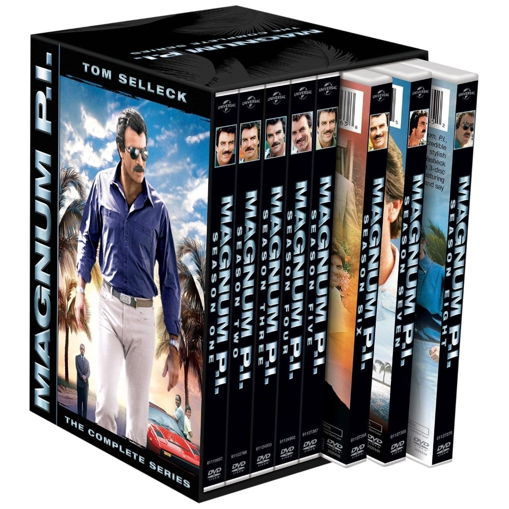 Magnum p.i. the complete series season 1 8  dvd 2013 42 disc  1 2 3 4 5 6 7 8 pi