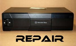 REPAIR SERVICE for MERCEDES BENZ ALPINE 6 DISC CD CHANGER PLAYER MC3196... - $178.19