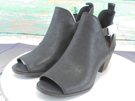Lucky Brand Banu Open Toe Leather Bootie 5.5 M - $26.75