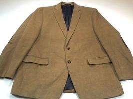 Chaps 46R Men's Corduroy Spoat Coat Blazer Elbow Patches Brown Jacket 46... - $59.99