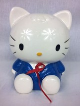 "Hello Kitty coin bank piggy bank ceramic earing ear phones 9"" tall ~ sweet - $14.46"