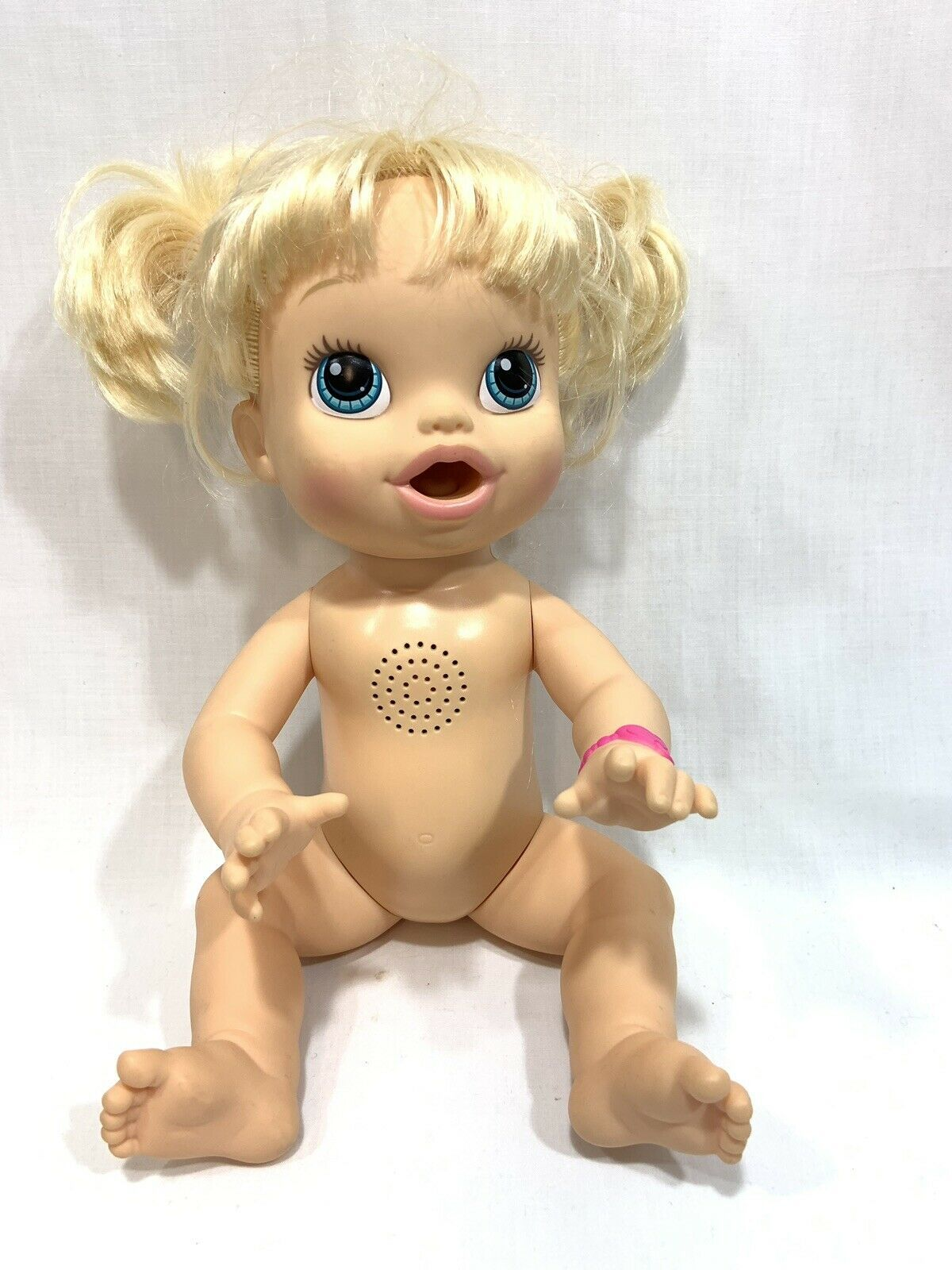 Baby Alive Hasbro 2013 Blonde Doll Interactive Talking Bilingual English Spanish image 8