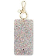 Kate Spade New York Id Badge Clip Key Chain, Multi Glitter - $43.83