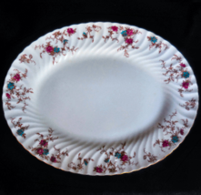 "Minton ""Ancestral"" Bone China Large Oval Platter - 15.25""  - $75.00"