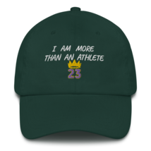 I Am More Than An Athlete Hat / King James / Basketball Dad hat image 7