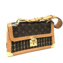 AUTHENTIC LOUIS VUITTON Monogram Tweedy Shoulder Bag tweed/enamel M92820 - $1,200.00