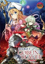 Goblin Slayer Complete Series (1-12 End) English Audio Dub Ship From USA