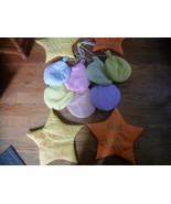 Fabric Balloon Wall Decor for baby's room + 4 star shaped  Prayer wall decor EUC - $21.78