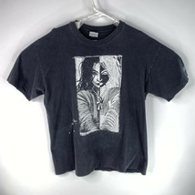 Vintage 90's Death Sandman Mens Sz XL Black DC Comics Graphitti 1995 T S... - $79.17