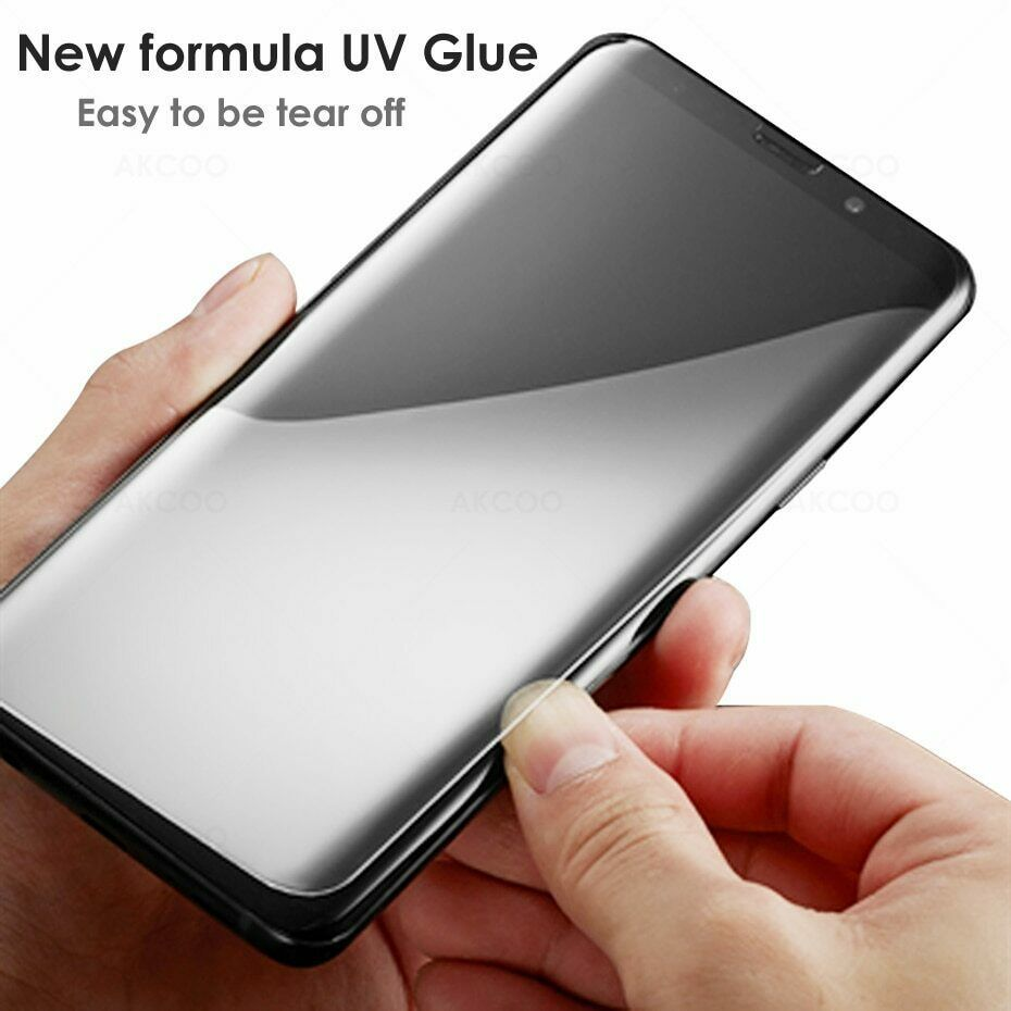 2019 UV Liquid Glass Samsung Galaxy Note 8 Screen Protector Case Friendly Film 9 image 11