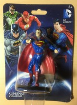 DC Comics SUPERMAN 2.25 in. Figurine by Monogram Justice League Super Fr... - $7.85