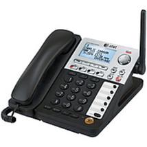 AT&T SynJ SB67148 4-Line Cordless Phone - DECT 6.0 - LCD Display - Caller ID/Cal - $92.12