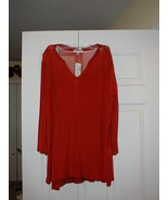 ROZ & ALI, Pumpkin Color LS Top! New With Tags! Free USPS Priority Ship - $14.25