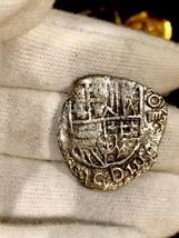 ATOCHA 1622 BOLIVIA 4 REALES GRADE 1 w/FISHER TREASURE COA PIRATE GOLD C... - $2,450.00