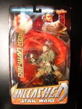 Star Wars Action Figure 2005 Unleashed Obi-Wan Kenobi Sealed on Card - $19.99