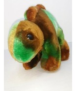 "TY Beanie Baby Green and Brown Dinosaur.  Stegosaurus Beanie Buddies 2000 13"" - $18.61"