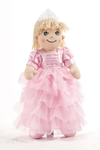 Adorable Apple Dumplin' Cloth 14 Doll by Delton - Pink Princess