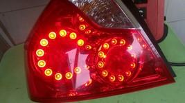 2006 - 2007 INFINITI M35 M45 DRIVER LEFT  SIDE LED TAILLIGHT 06 07 - $138.55