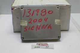 2004 Toyota Sienna Engine Control Unit ECU 8966108090 Module 107 10C4 - $45.53