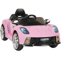 12V Ride On Car Kids W/ MP3 Electric Battery Power Remote Control RC Pink - $220.90