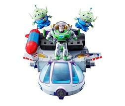 "Bandai Tamashii Nations Buzz the Space Ranger Robo Chogattai ""Toy Story"" - $165.97"