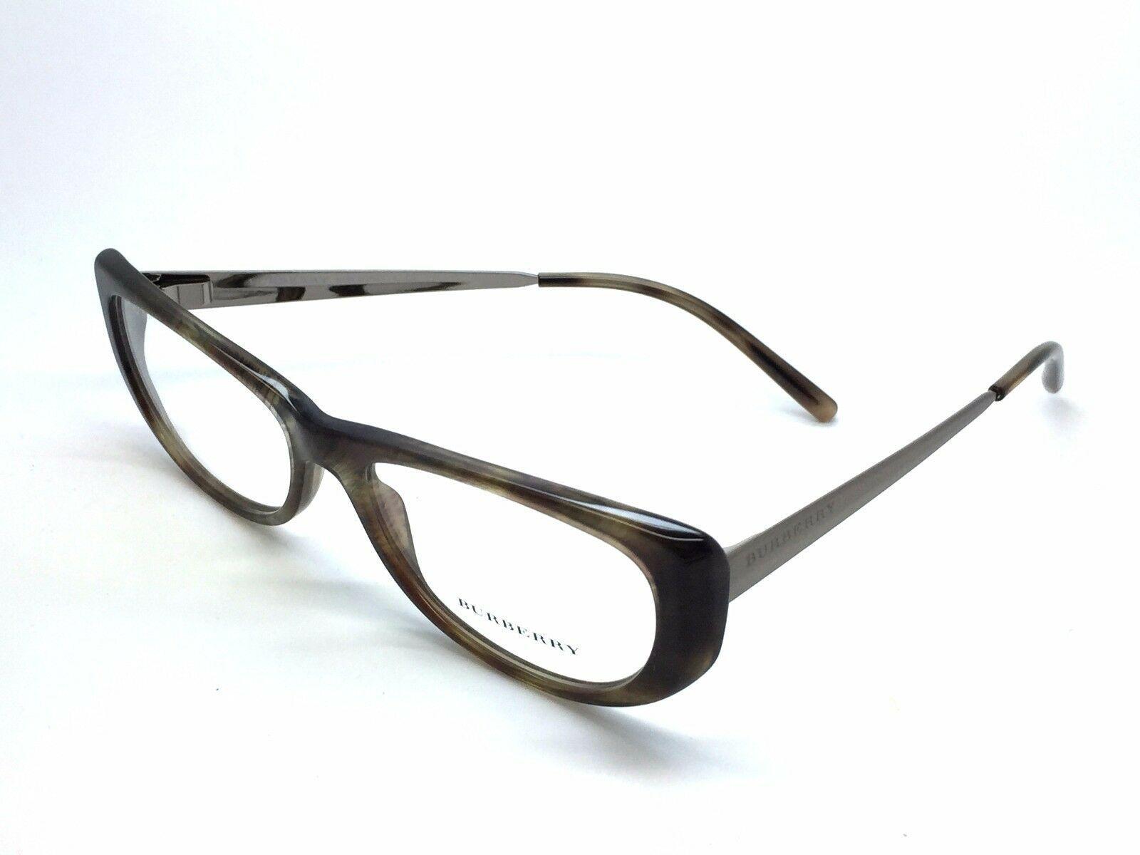 2168 3472 New Authentic BURBERRY EYEGLASSES FRAME 53-16-135 Italy frame  - $77.57