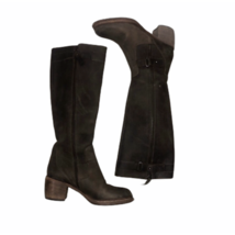 Vera Wang brown leather made in Italy 6.5 boots - $96.11