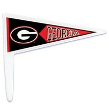 14ct. NCAA Georgia Bulldogs Cake Picks - $3.99