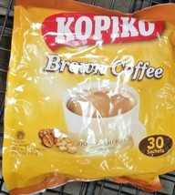 2 PACK KOPIKO BROWN 3 IN 1 INSTANT COFFEE STRONG & RICH COFFEE  /30 SACH... - $31.68