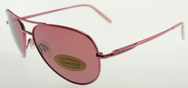 Serengeti Small Aviator Pink / Sedona Polarized Sunglasses 7093 - $195.02