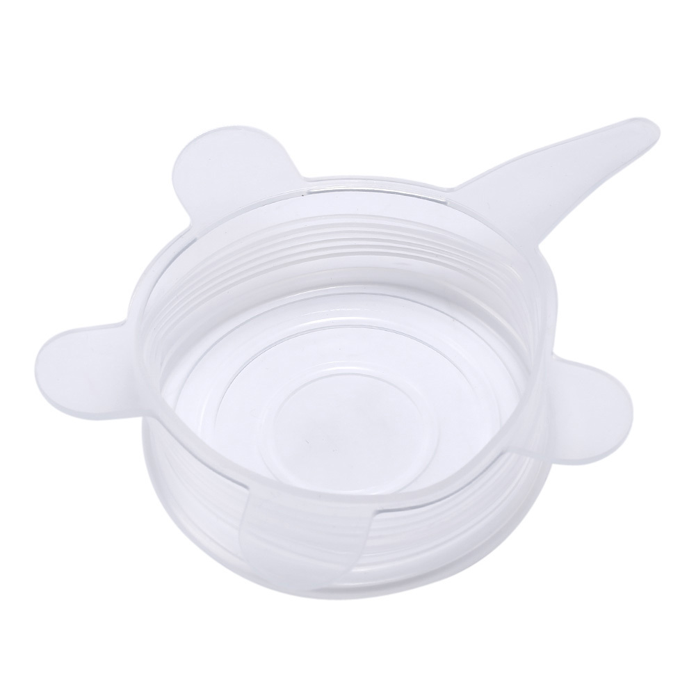 (white)6PCS/Set Universal Silicone Suction Lid-bowl Pan Cooking Pot Lid-si - $30.00