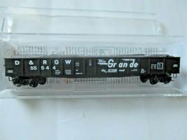 Micro-Trains # 10500311 Denver & Rio Grande Western 50' Steel Side Gondola (N) image 1